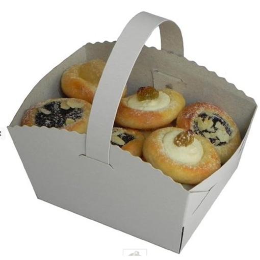Obrázok z Košíček na svadobné koláčiky