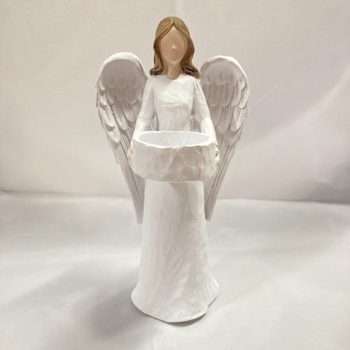Obrázok z Svícen Anjel cca 19 cm