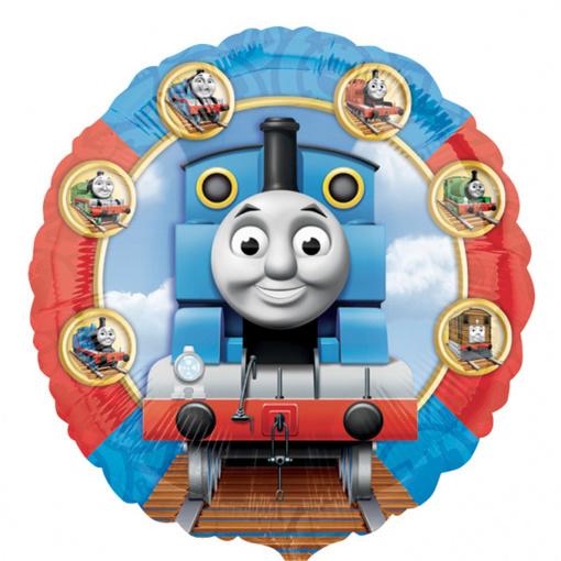 Obrázok z Fóliový balónik Mašinka Tomáš 43 cm