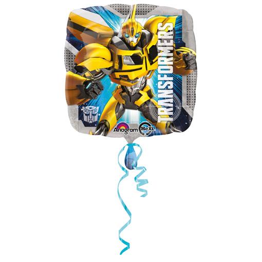 Obrázok z Fóliový balónik štvorec - Transformers 45 cm