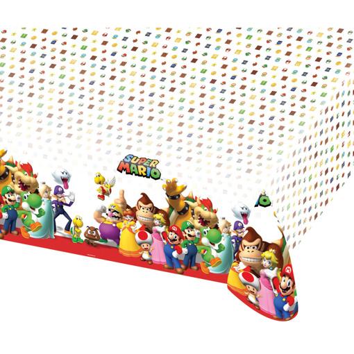 Obrázok z Plastový obrus Super Mario 120 x 180 cm