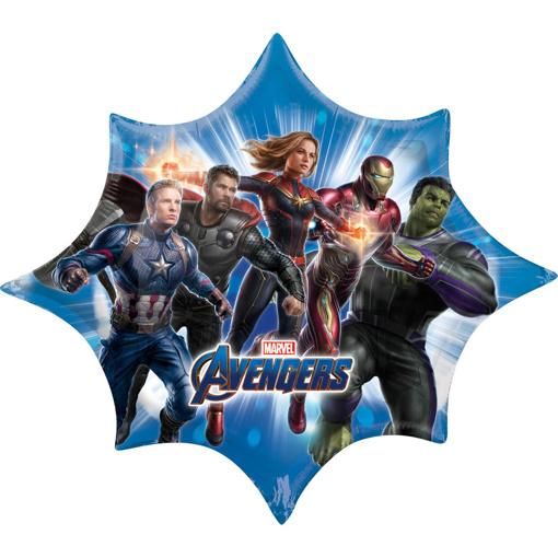 Obrázok z Fóliový balónik Avengers Endgame 88 x 73 cm