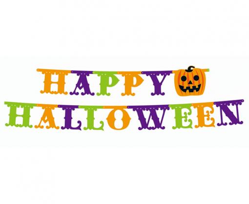 Obrázok z Party nápis Happy Halloween Maxi - 350 x 21 cm