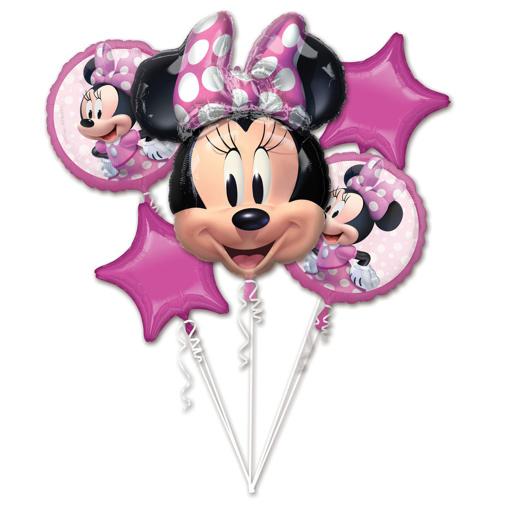 Obrázok z Sada fóliových balónikov Minnie Mouse - 5 ks