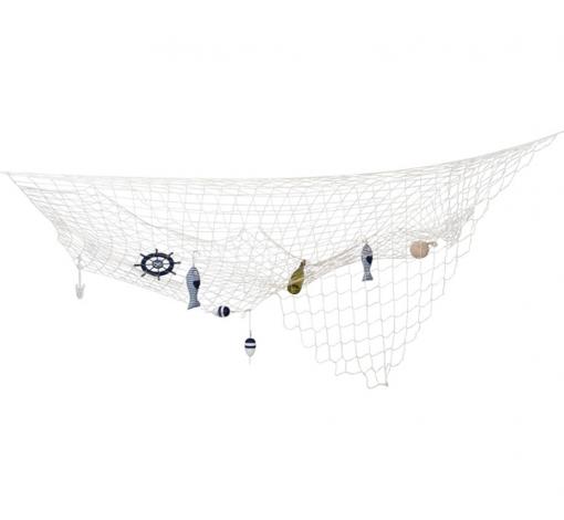 Obrázok z Dekoračné rybárska sieť 300 cm