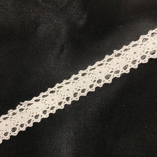 Obrázok z Krajka samolepící bílá 1,5 cm x 1,8 m