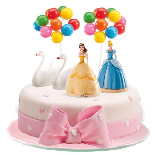 Obrázok z Dekorácia na tortu - Disney Princess 9 cm