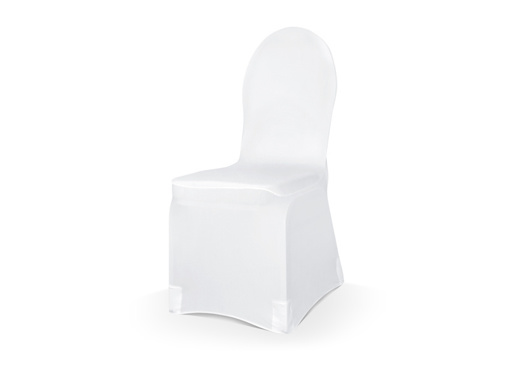 Obrázok z Potah na židli elastický bílý