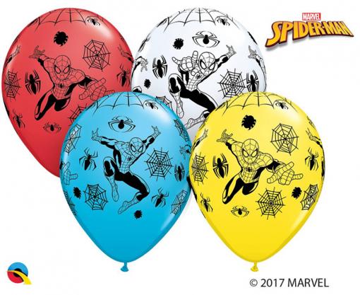 Obrázok z Latexové balónik Spiderman 30 cm