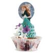 Obrázok z Jedlý papier zápich na tortu Frozen 20 ks