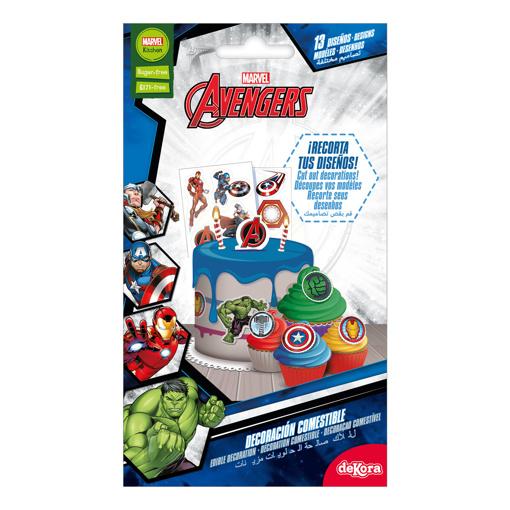 Obrázok z Fondánové dekorácie Avengers - 13 ks