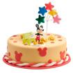 Obrázok z Dekorácia na tortu - Mickey Mouse a hviezdičky 7 cm