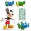 Obrázok z Dekorácia na tortu - Mickey Mouse a sviečky 7 cm