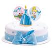 Obrázok z Dekorácia na tortu - Popelka 8 cm