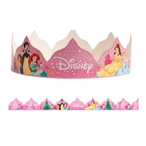 Obrázok z Papírové korunky Disney princess 10 ks