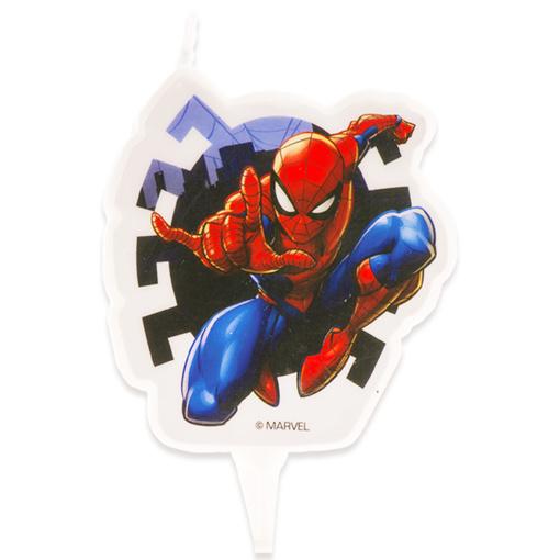 Obrázok z Dortová svíčka 2D - Spiderman