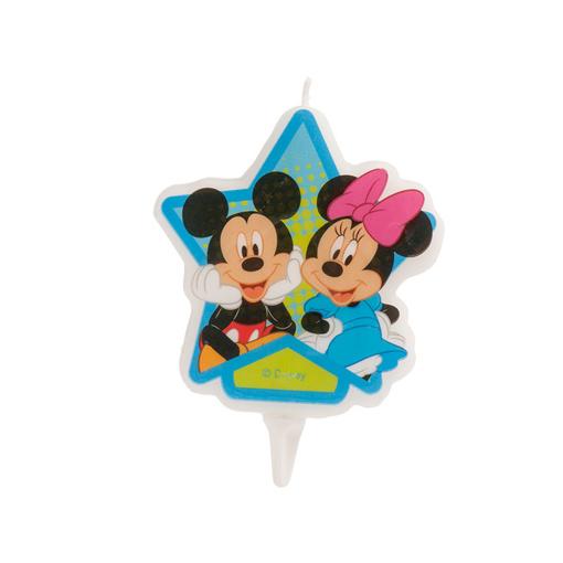 Obrázok z Dortová svíčka 2D - Mickey a Minnie Mouse