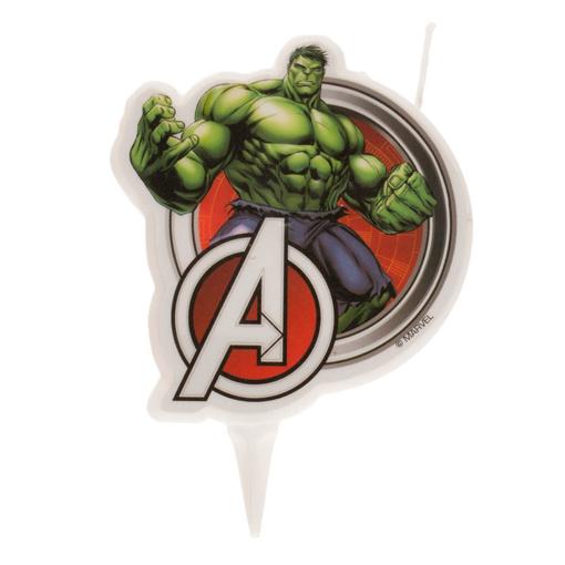 Obrázok z Dortová svíčka 2D - Avengers - Hulk