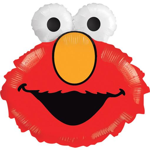 Obrázok z Foliový balonek Elmo 50 cm
