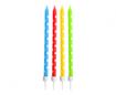 Obrázok z Dortové svíčky barevné s puntíky, 24 ks s držátky