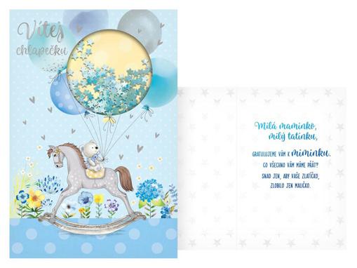 Obrázok z Prianie k narodenie bábätka - modré