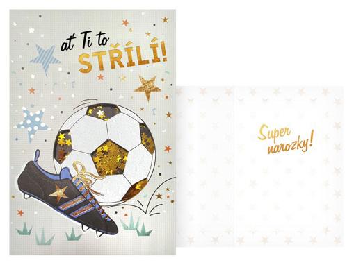 Obrázok z Narozeninové přání - Ať ti to střílí - Fotbal