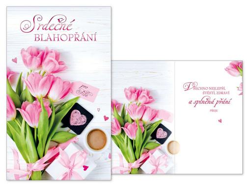 Obrázok z Srdečné blahoželanie kvety