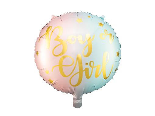 Obrázok z Foliový balonek Boy or Girl - 35 cm