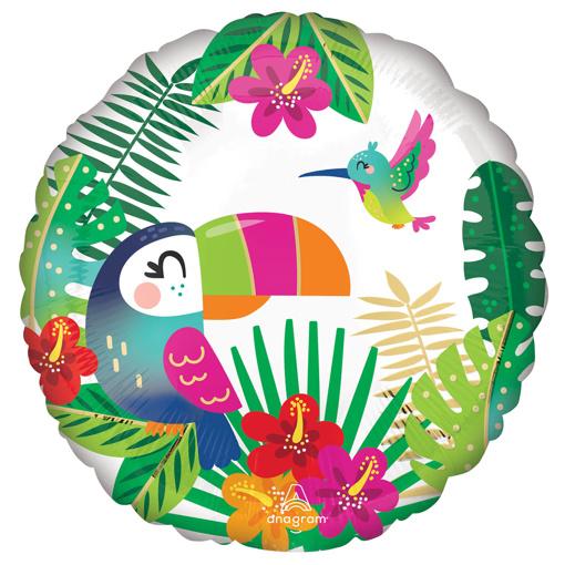 Obrázok z Foliový  balonek Tropical paradise 43 cm