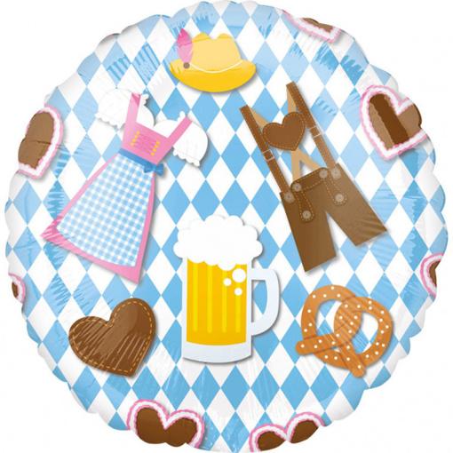Obrázok z Foliový  balonek Oktoberfest 43 cm