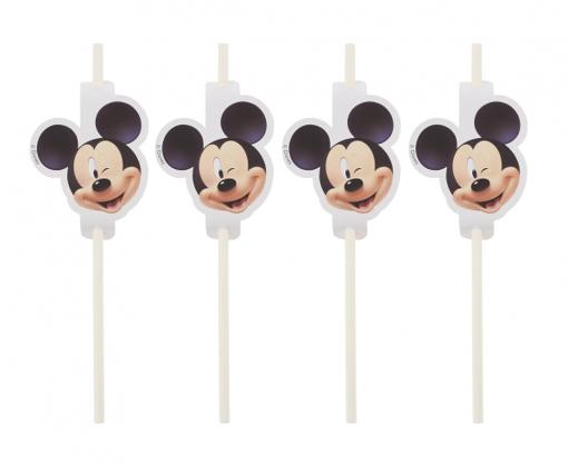 Obrázok z Party brčka Mickey Mouse - 4 ks