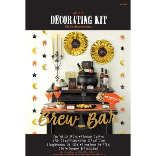 Obrázok z Dekorační sada Halloween - Brew Bar 23 ks
