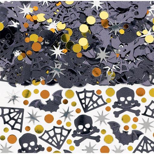 Obrázok z Konfety Halloween - metalické 14 g