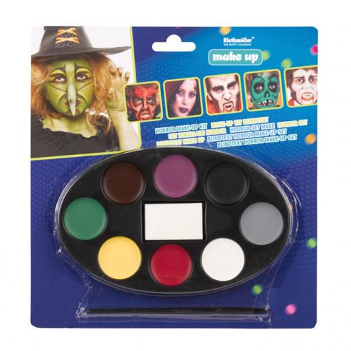 Obrázok z Halloweenská sada barev na obličej - 8 barev