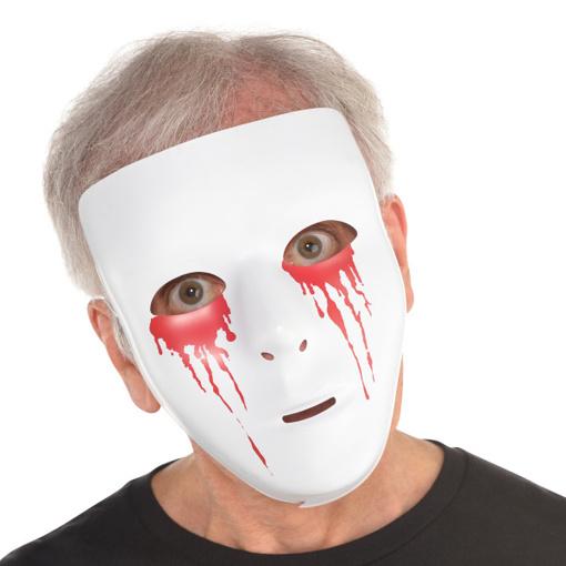 Obrázok z Halloweenská maska Krvavé oči