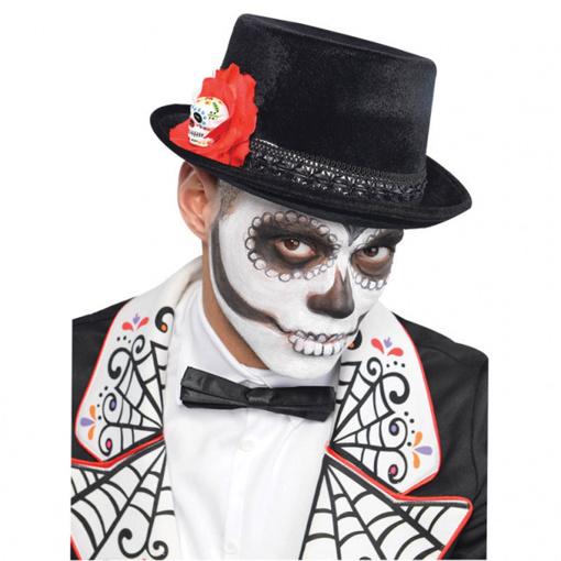 Obrázok z Halloweenský klobouk Day of the Dead