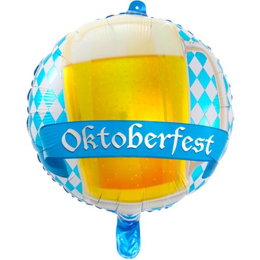Obrázok z Foliový  balonek beer - Oktoberfest 43 cm
