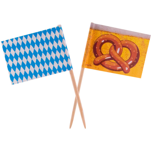 Obrázok z Napichovátka Oktoberfest 50 ks