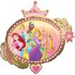 Obrázok z Foliový balonek ovál - Disney princess 86 x 81 cm