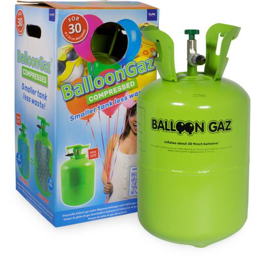 Obrázok z Hélium na 30 balónikov - 250 litrov - Balloongaz