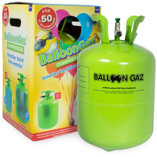 Obrázok z Hélium na 50 balónikov - 400 litrov - Balloongaz