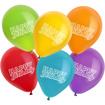 Obrázok z Helium da balonků - sada s balonky Happy Birthday
