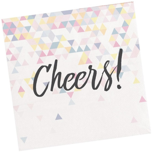 Obrázok z Papírové ubrousky perleťové Cheers 16 ks