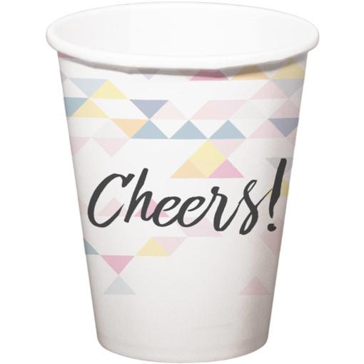 Obrázok z Papírové kelímky perleťové Cheers 6 ks
