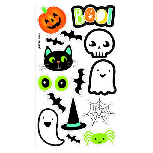Obrázok z Dětské tetování Halloween 16 ks