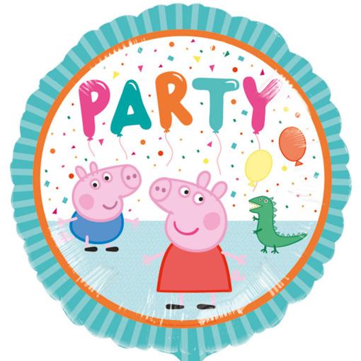 Obrázok z Fóliový balónik Prasiatko Peppa - Party 43 cm