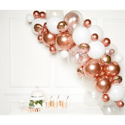 Obrázok z Sada na balonkovou girlandu Rose gold - Amscan