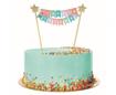 Obrázok z Dekorace na dort Happy Birthday - pastel