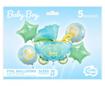 Obrázok z Sada foliových balonků Baby Boy - 5 ks