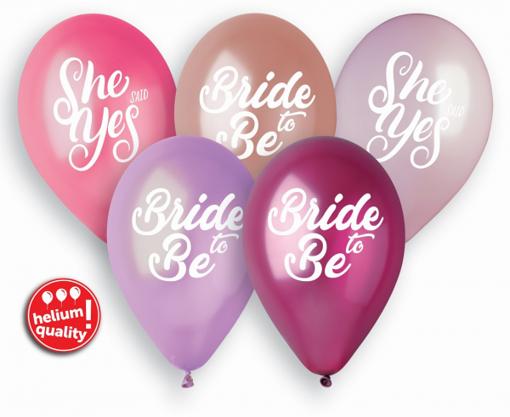 Obrázok z Latexové balonky Ladies Night - Rozlučka se svobodou 33 cm - 5 ks